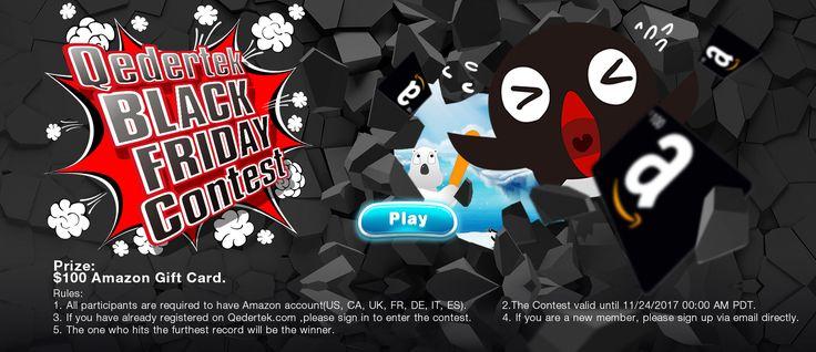 Polar Bounce - Qedertek Black Friday Crazy Game Contest