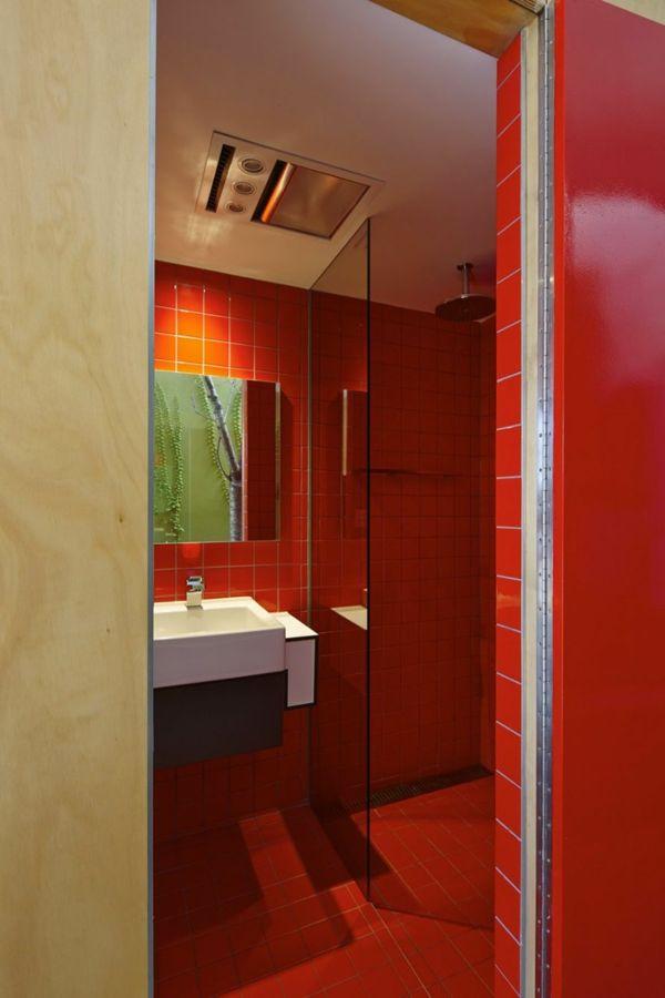 ... Badezimmer auf Pinterest Rotes Badezimmerdekor, Badezimmer und