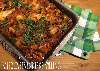 Paleolivet: Et virkelig lækkert Krydret indisk kyllingefad med en fed cremet sovs. Lowcarb. Prøv den!