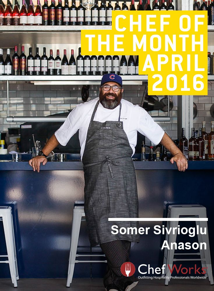 With a portfolio of awards and two thriving restaurants, Chef Somer is an inspiration. This Chef not only uses his cooking skills the kitchen; he recently used his talent to participate in OZHarvest's CEO Cookoff helping them raise funds to feed vulnerable people across Australia.  #chefworks #chefworksau #chefofthemonth #somersivrioglue #anason #efendy