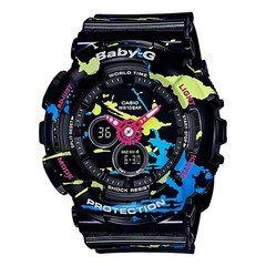 Official Casio Baby G Shock Watch Splatoon edition (Black)