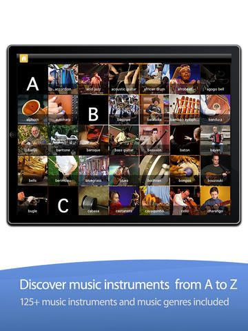 exciting mini adventures to discover the world of music one letter, word, photo, and video at a time.