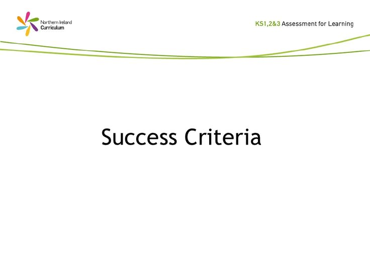 T&L Success Criteria by caldiesschool via slideshare