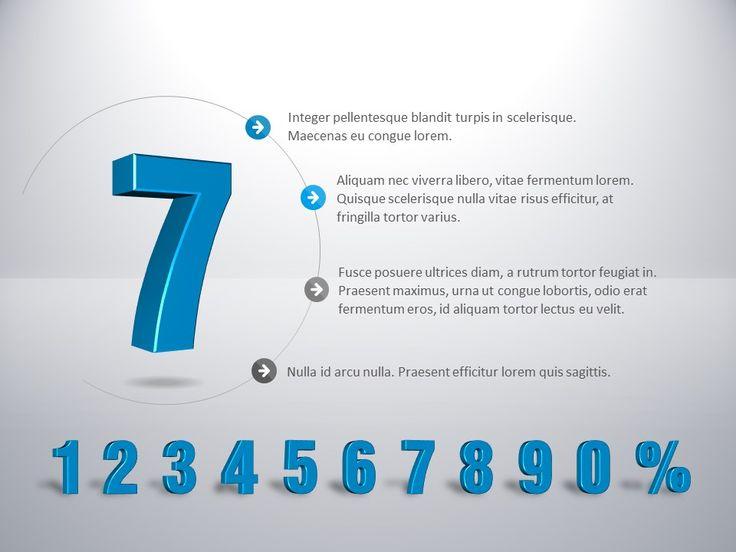 Cyfry 3D - 1234567890 http://www.powerslajdy.pl/pl/p/Liczba-procent-3D/88
