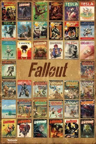 Fallout 4- Pulp Fiction Compilation Pôster