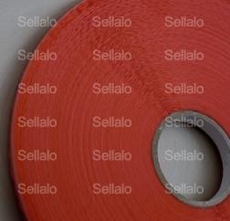Cinta Adhesiva Resellable - Como su nombre lo indica esta cinta puede pegarse y despegarse varias veces en el material donde fue aplicada. Es utilizada frecuentemente en empaque flexible para cerrar bolsas de celofán o bolsas de plástico.