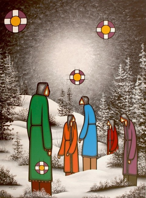Leland Bell (Anishinabe from the Wikwemikong Unceded First Nation on Manitoulin Island, Ontario,)