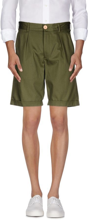 $119, Oliver Spencer Bermudas. Sold by yoox.com. Click for more info: https://lookastic.com/men/shop_items/355586/redirect
