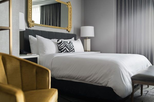 Columbus Ohio Hotel Photo Gallery Hotel Leveque With Images Luxury Hotel Room Ohio Hotels Bedroom Inspirations