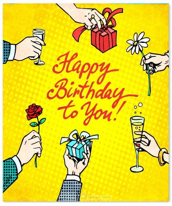 Happy Birthday, Friend - Top 50 Friend's Birthday Wishes