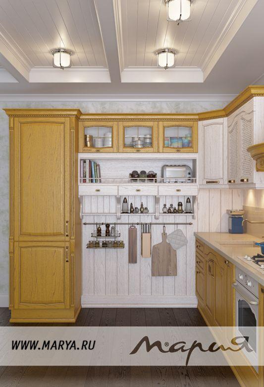 Мебель для кухни: кухня Acatcia в классическом стиле - Фабрика Мария - Мебельная Фабрика Мария