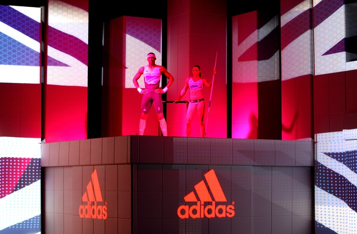 On the Adidas Stage - Icon, worked closely with adidas to deliver the launch of Team GB's athletes' kit