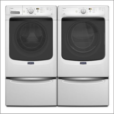 Maytag Maxima Washer and Dryer External