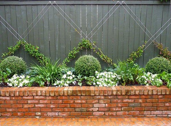 Brillante DIY Garden Decor Ideen mit alten Ziegeln, um Ihr Geld zu sparen