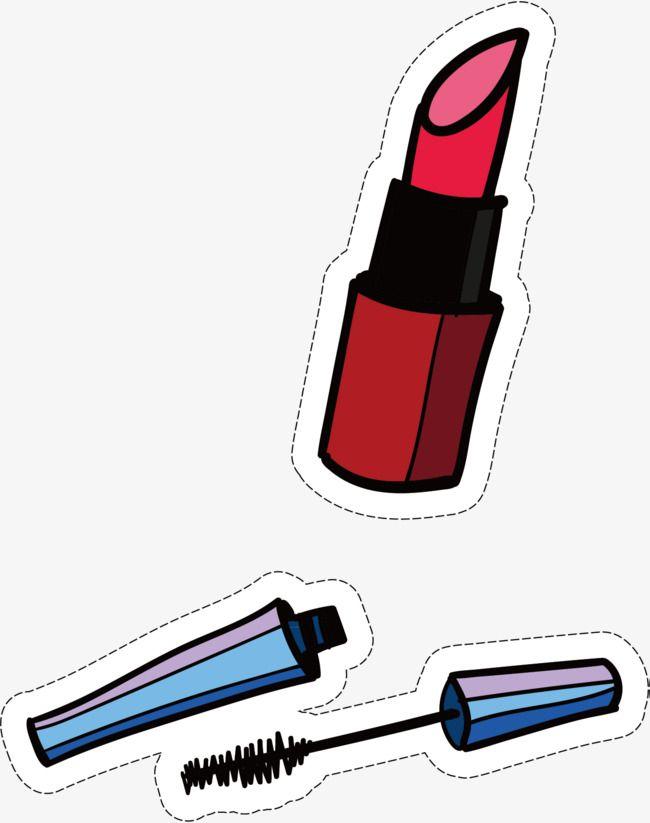 Makeup Pegatinas Bonitas Dibujos Lapiz Labial