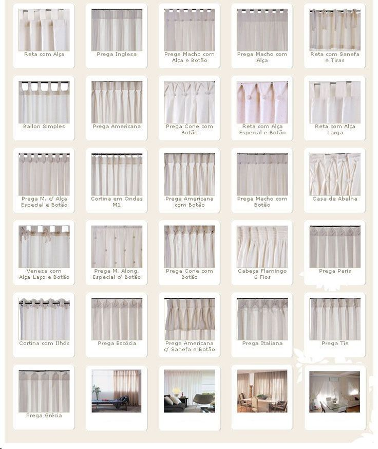 25 best ideas about tipos de cortinas on pinterest - Cortinas tipo persiana ...