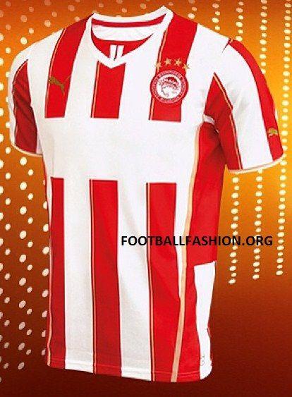 Olympiacos 2013/14 PUMA Home Kit