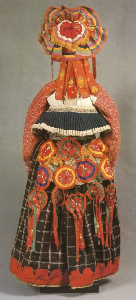 Russian folk costume from Tula.