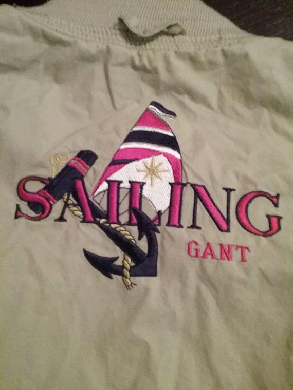 Sailing Jacket, Gant Sailing Jacket, Men's Sailing Jacket, Gant Reversible Sailing Jacket, Men's Reversible Sailing Jacket, Mens Spring Coat