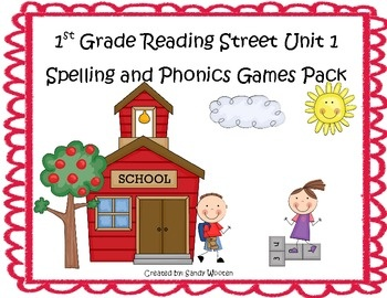 What a fun and engaging way to practice the spelling and phonics patterns from Reading Street Basal Series Unit 1! This pack includes 12 games that...