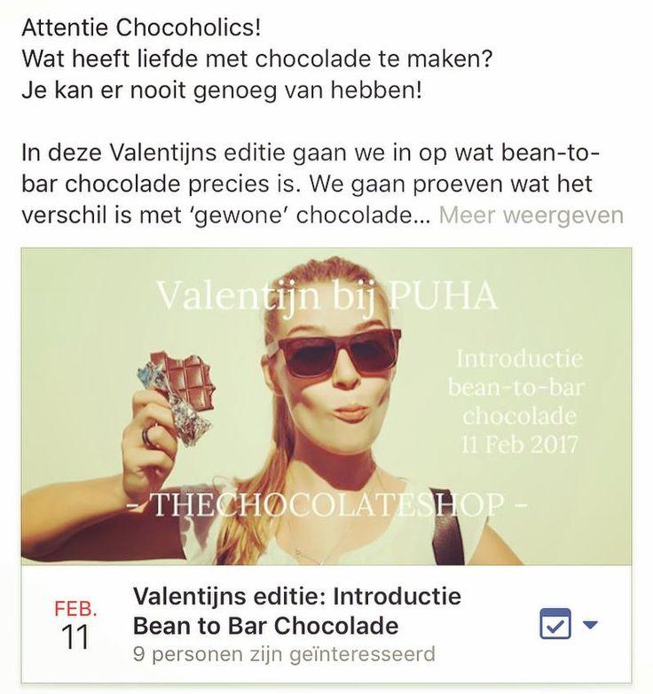 Attentie Chocoholics! Wat heeft liefde met chocolade te maken? Je kan er nooit genoeg van hebben! Kom ook naar deze speciale Valentijns editie van de workshop: Introductie bean-to-bar chocolade op zondag 11 februari. We leggen uit wat chocolade (en de liefde) doet met je lichaam en we gaan natuurlijk veel heerlijke chocolade proeven. Gezellig met je vriendinnen of leuk als cadeau (voor jezelf) Tot dan! #workshop #beantobar #chocolade #craftchocolate #valentijn #valentijnsdag #vriendinnen…