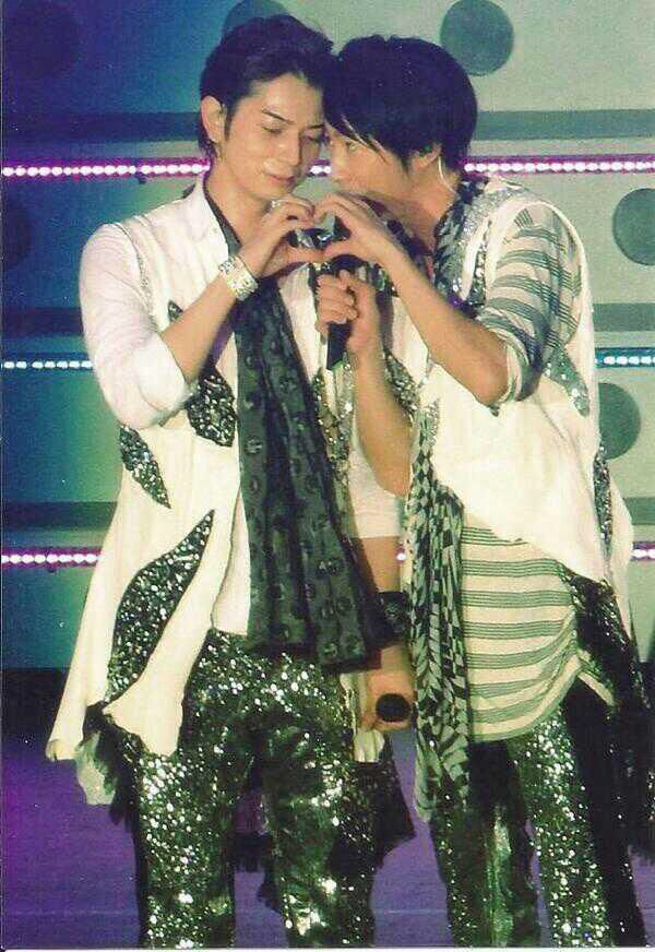JunBa: Matsumoto Jun and Aiba Masaki, Arashi.