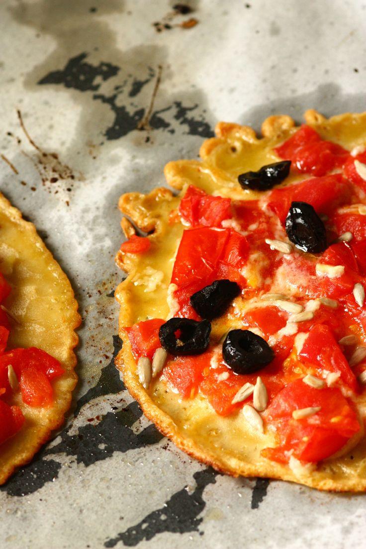 Pizza-socca à la farine de pois chiches