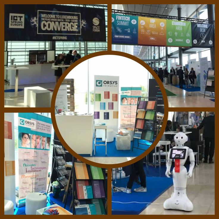 "Les 9 et 10 mai, notre équipe luxembourgeoise était présente au salon ""ICT Spring Europe"" qui avait lieu au Luxembourg à l'European Convention Center :)  #ORSYS #salon #ICTspring #EuropeanConventionCenter #Luxembourg #Europe #stand #formation #formpro #web #innovation #technology #digital #entreprise"