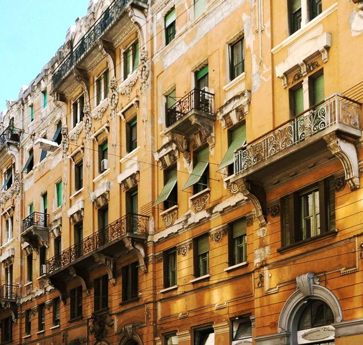 Balconies of Trieste