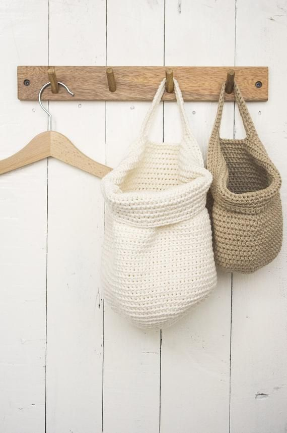 Wall Hanging Storage Basket Modern Boho Nursery Decor Light Ecru Wall Basket Storage Baskets Baskets On Wall Hanging Basket Storage