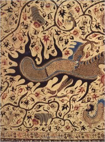 naranjas tela del batik batik kebaya batik teñido patrón de batik ...