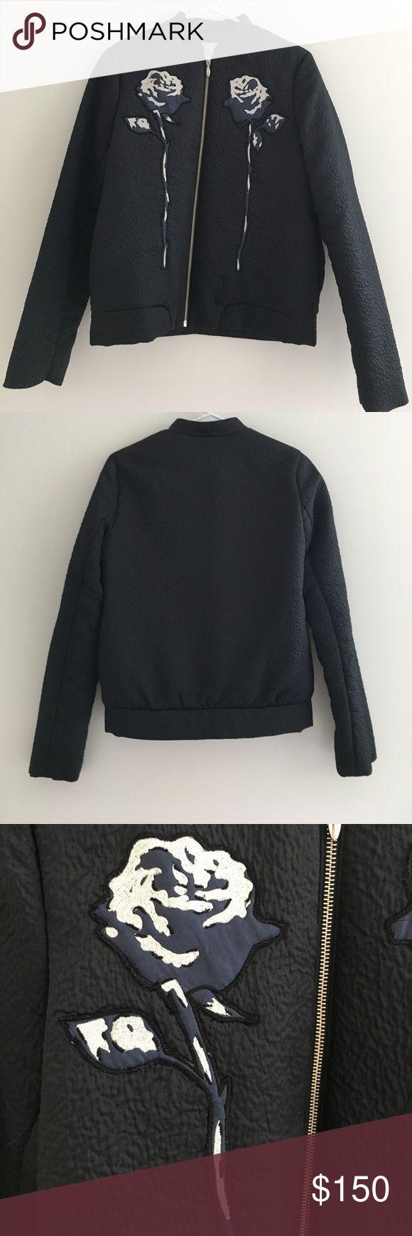 Opening Ceremony navy bomber jacket 100% polyester Opening Ceremony Jackets & Coats