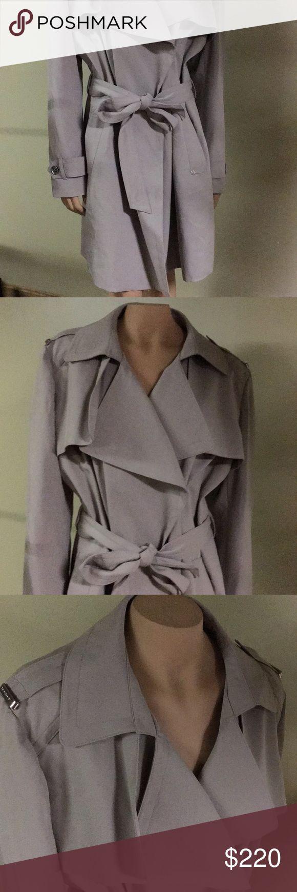 NWT// Michael Khors Khaki Trench NWT// Michael Khors Khaki Trench MICHAEL Michael Kors Jackets & Coats Trench Coats