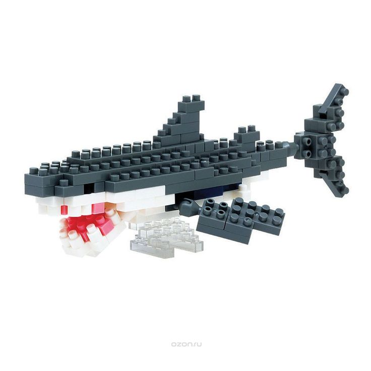 Nanoblock Great White Shark | Toys R Us Australia