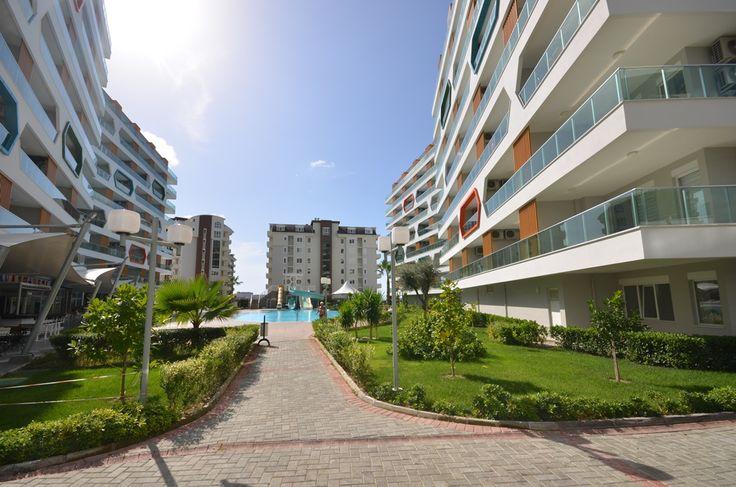 Möblierte Wohnung 2+1 in Avsallar/Alanya