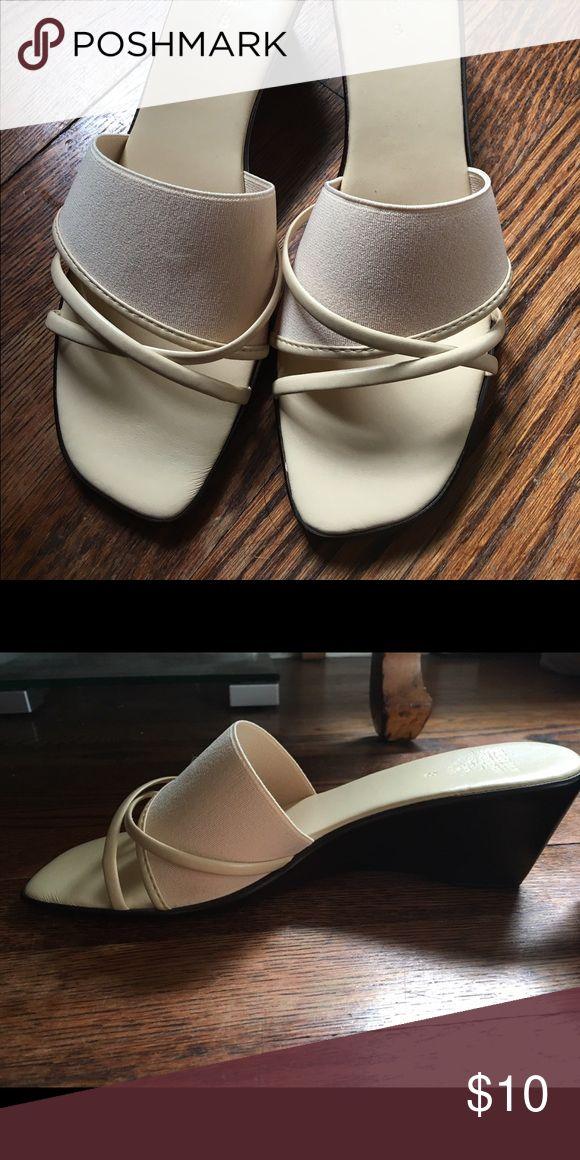 Italian Shoe Maker Sandals Italian Shoemaker sandals never worn Italian Shoe Makers Shoes Sandals