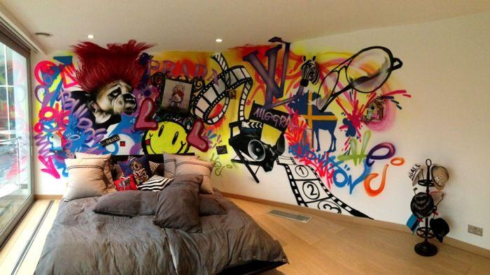 Idée Déco Chambre Ado Garçon Graffiti Déco Murale Graffiti