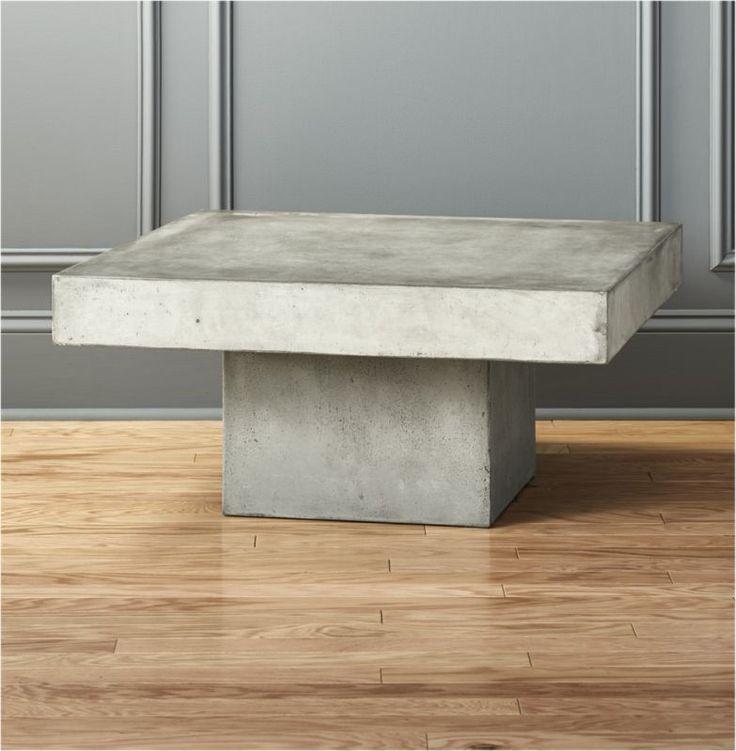 Element Coffee Table Cb2 Vamos A Mexico Concrete Coffee Table Stone Coffee Table Table