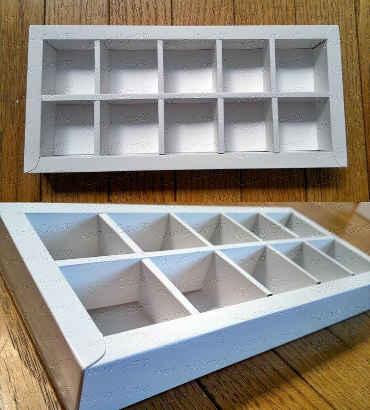 Box Cokelat isi 10  (5x2)