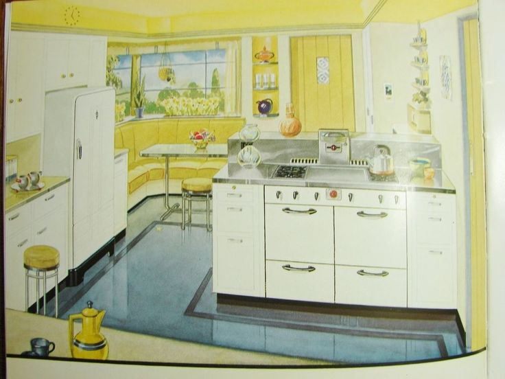 1941 SOUTHERN CALIFORNIA GAS CO Kitchen Appliances DESIGN PLANNING VTG Catalog