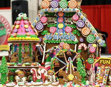 Gingerbread House Competition! The annual Christmas Crafts Festival at the Seaport World Trade Center: November 8, 9, and 10, 2013.