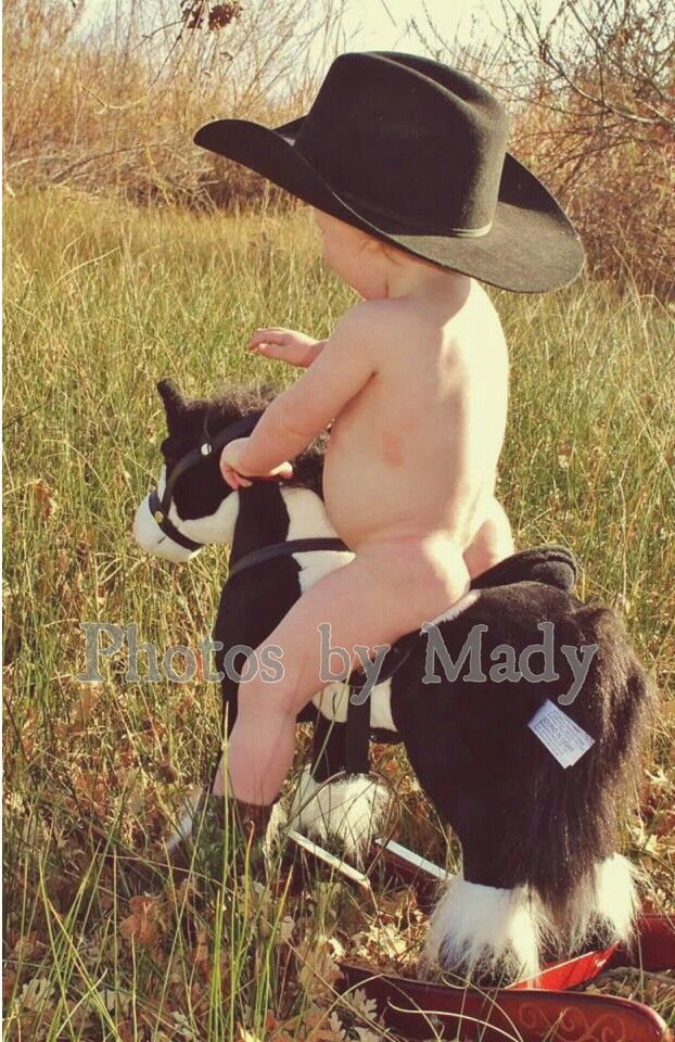 Baby boy country baby