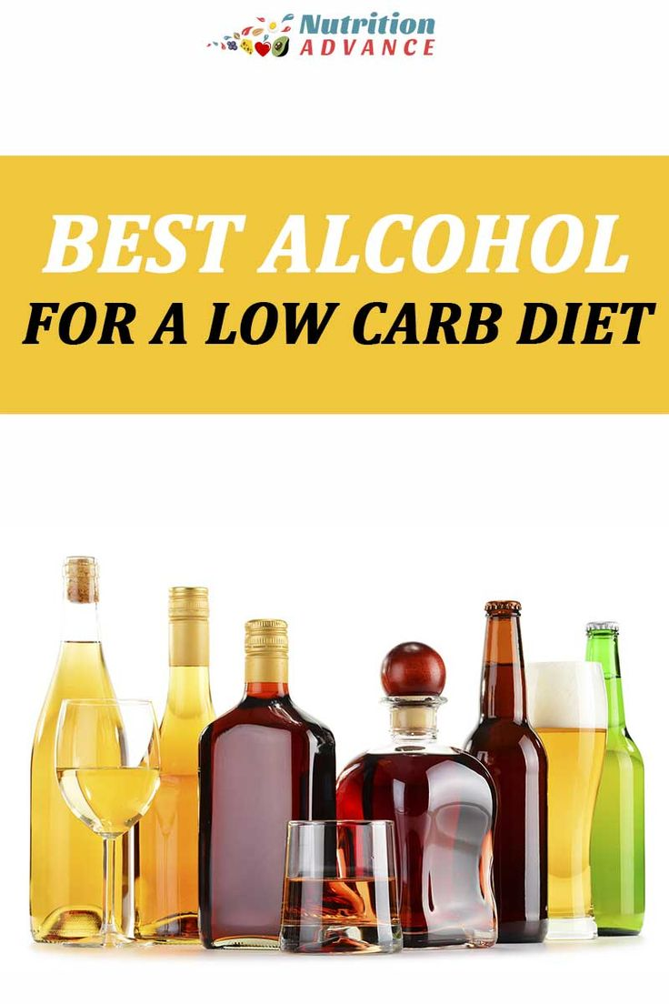 best low carb alcohol when dieting