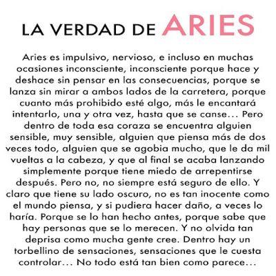 ARIES (Marzo 21 * Abril 19) – El mentiroso.      Fiestero, adorable espontáneo y muy divertido. Es un Excelente besador, adictivo, ruidoso....