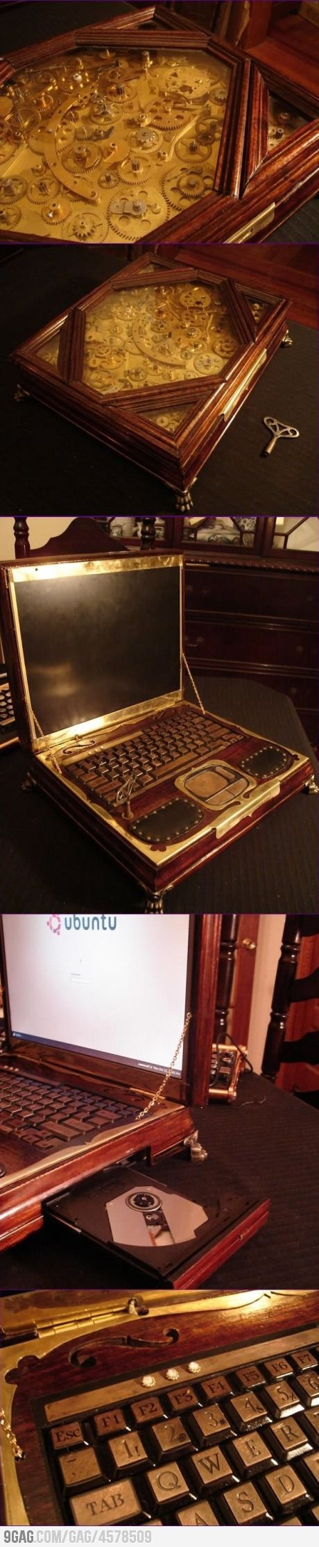 : Epic Steampunk, So Amazing, Awesome, Funny Pictures, Steampunk Tech, Steampunk Laptops, Art, Steam Punk, Steampunk Ish