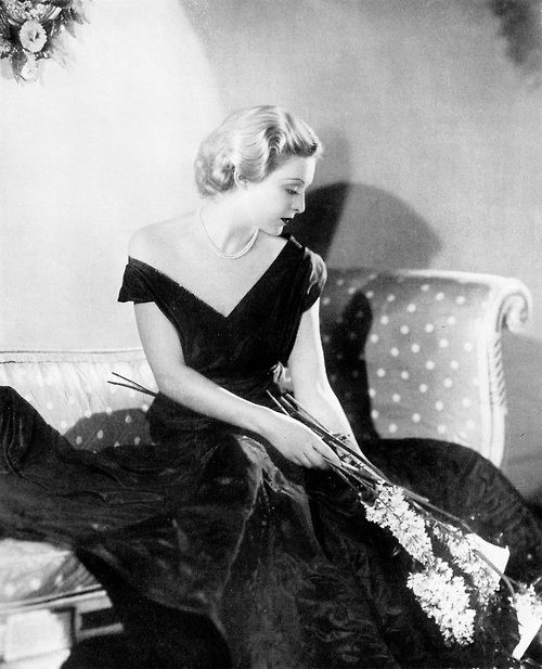 Madeleine Carroll by Paul Tanqueray, 1936