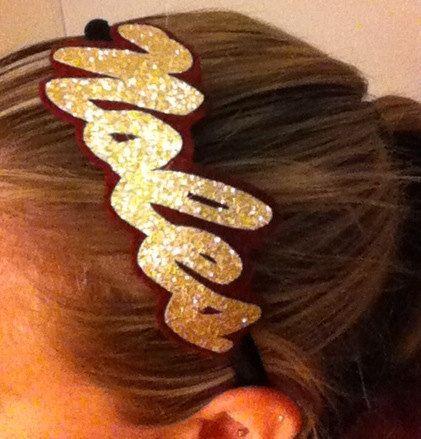 Noles headband by TeamTime on Etsy, $8.00