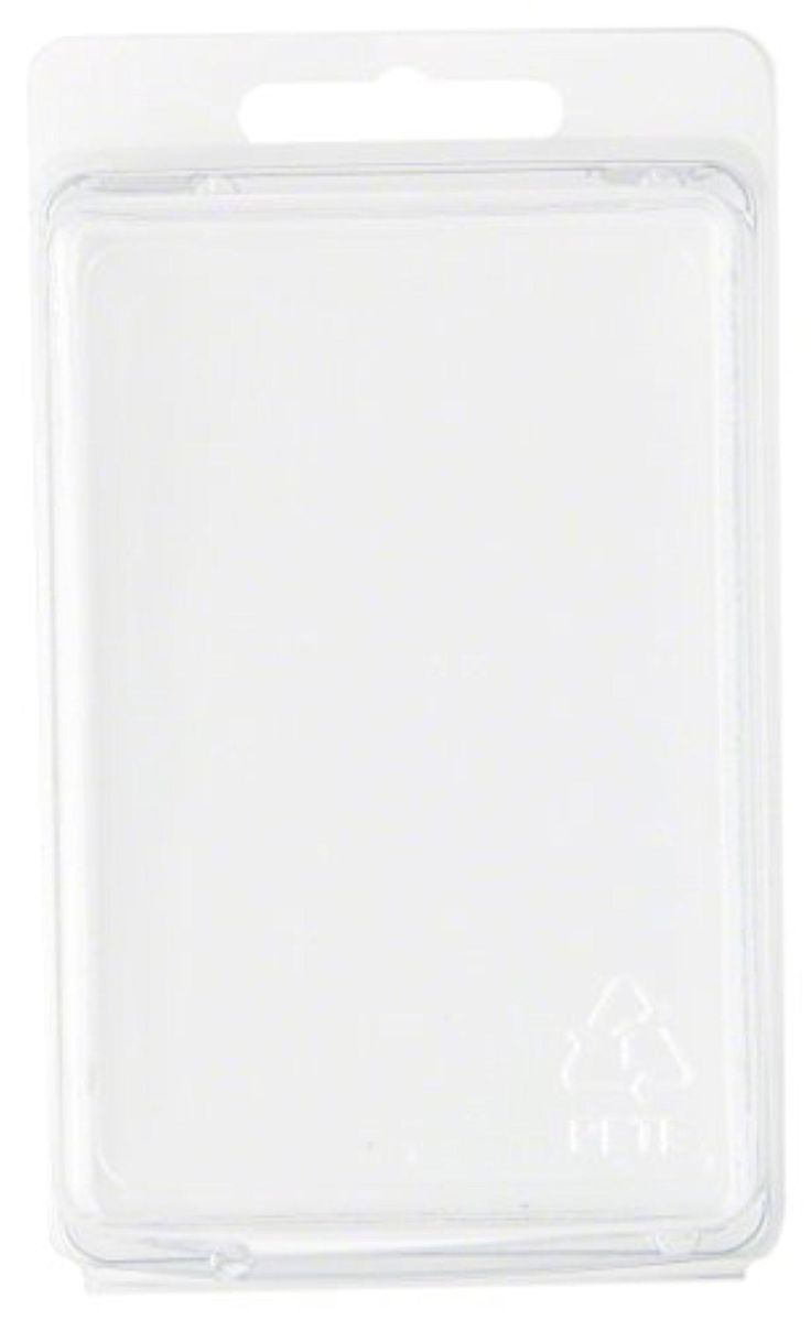 """Clear Plastic Clamshell Package / Storage Container, 3.81"""" H x 2.56"""" W x 1.88"""" D - Brought to you by Avarsha.com"""
