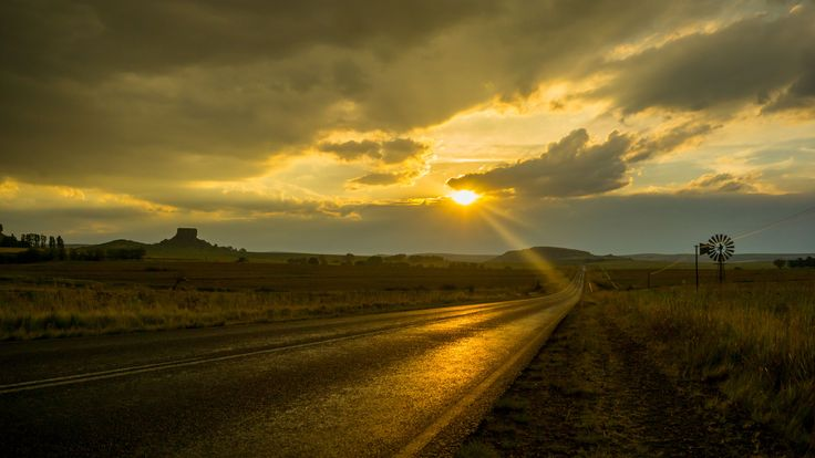 On the Road to Lesotho