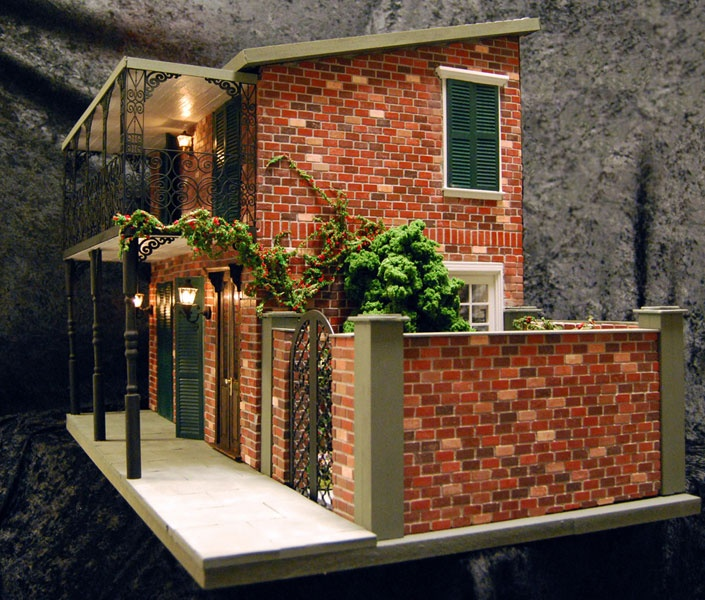 Modern Mini Houses: HBS/Miniatures.com Creatin' Contest 2012